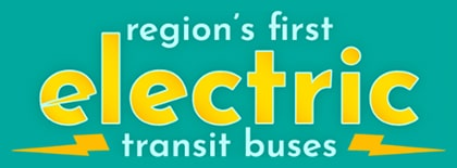 Region's First Electric Transit Buses
